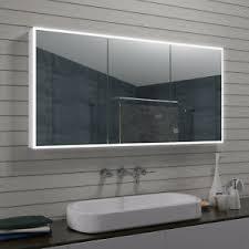 details zu neu led badezimmer spiegelschrank badschrank badmöbel kosmetikspiegel mla1470 r