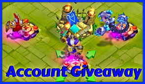 Pumpkin Duke Castle Clash 99 by Castle Clash Legendary Account Giveaway Thunder God Druid
