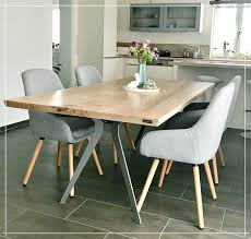 massivholztisch für 4 bis 6 personen aus eiche