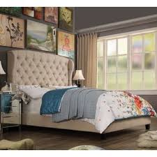 Wayfair Tufted Headboard King by King Size Upholstered Beds You U0027ll Love Wayfair