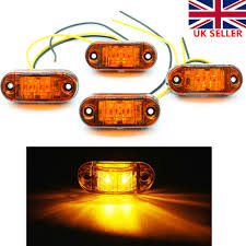 4xLED Front Side Marker Lights Truck Van Trailer Indicator Lamp 12V ... Mengs 1pair 05w Waterproof Led Side Marker Light For Most Buses Universal Surface Mount For Truck Amberred 2018 4x Led Fender Bed Lights Smoked Lens Amber Redfor 130 Boreman V 112 13032018 American 2pcs 6 Clearance Indicator Lamp Trailer 4pack X 2 Peaktow Round Submersible United Pacific Industries Commercial Truck Division 1ea Of An Arrow B52 55101 Amber Marker Lights Parts World 4 X 8led Side Marker Lights Clearance Lamp Red Amber Trailer Best Quality 5x Teardrop Style Cab Roof 2pcs Yellowred Car