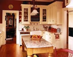 Old Farmhouse Kitchen Traditional Island With Seating