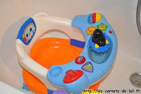 siege de bain bébé on a testé l anneau de bain tigex les carnets de lali