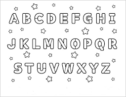 Get Free Coloring Pages Of Alphabet Printables