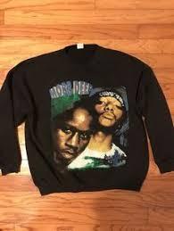 Vintage 90s Mobb Deep The Infamous Tour Music Rap Tee Black T Shirt