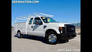 100 Ford F250 Utility Truck 2008 Extended ONLY 20K Miles 2WD Brand New