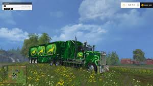 John Deeres Truck And Trailer For FS 2015 - Farming Simulator 2019 ...