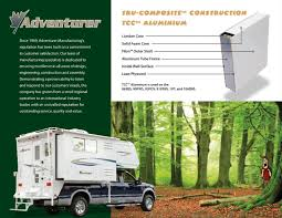 2008 ALP Adventurer Truck Campers Brochure | RV Literature One Guys Slidein Truck Camper Project Campers Bed Adventurer Eagle Cap Palomino Rv Manufacturer Of Quality Rvs Since 1968 With Slide Outs Luxury Model 1200 Pop Up Manufacturerspop Canada Cirrus 800 Wpaul The Air Force Guy Youtube Kamper City What Rv Akron Canton Cleveland 2014 Lance Manufacturing 850 Blade Center Mostly Complete List Off Road Trailer Manufacturers Toyota Truck Campers Business Soft Side In Best Resource