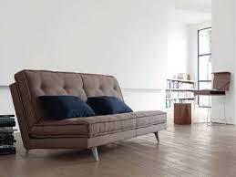 canapé lit roset canapé lit en tissu avec revêtement amovible nomade express by