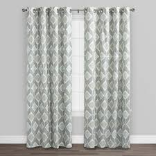 Curtain Call Richmond Va by Indigo Blue Cotton Morris Curtains Set Of 2 World Market