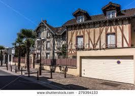 le chalet enghien les bains beautiful house on avenue de ceinture stock photo 279394133