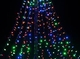 Flagpole Christmas Tree Kit White by Diy Christmas Ideas Make A Tree Of Lights Using A Basketball Pole