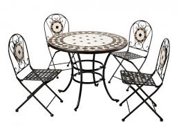 Hertfordshire 5 Piece Mosaic Table Chair Set