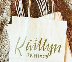 Bridesmaid Goodie Bags Image 0 Favor