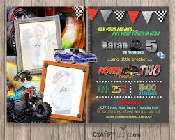 Boy Birthday Invitations Elegant Monster Truck Sibling Birthday ... Monster Jam Party Supplies And Invitationsthis Party Nestling Truck Invitations Monster Truck Invitation Other Than Airplanes Birthday Shirt Cartoon Extreme Sports Vector Stock Royalty Printable Chalkboard Package Archives Diy Home Decor Crafts Blaze The Machines 8 Ct Walmartcom Gangcraft Grave Fill In Style 20 Count Invitations Compare Prices At Nextag Invitation Racing Car 2 3 4 5