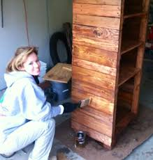 Pallet Wood Converted To Beautiful Shelves Diy Shelving Ideas Storage