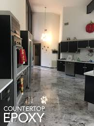 Poured Epoxy Flooring Kitchen by How To Design Your Epoxy Floor Counter Top Epoxy
