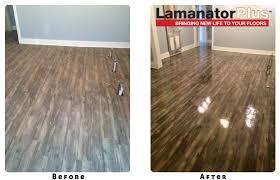 lamanator plus cleans shines protects laminate floor