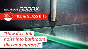 Drilling Through Ceramic Tile by How To Drill Holes Into Bathroom Mirrors And Tiles Timco How To