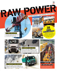 100 Tough Trucks Construction Machinery ME October 2018 By CPI Trade Media Issuu