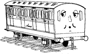 Free Printable Thomas The Train Coloring Pages 20