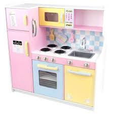Kidkraft Play Kitchen Large Pastel Vintage Costco