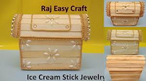 How To Make Ice Cream Stick Jewelry Box