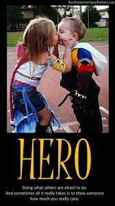 Heros Cute Kids Hero Reward Best Demotivational Posters