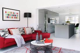 Red Leather Couch Living Room Ideas by Living Room Red Leather Sofa Living Room Ideas Contemporary