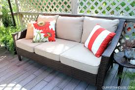 Walmart Patio Furniture Cushion Replacement by Patio Furniture Cushion Covers Diy Outdoor Replacement Chair