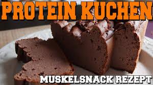 muskelsnack rezept protein kuchen