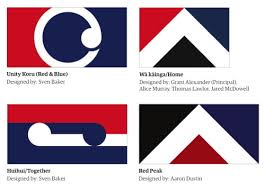The Circular Flag Design Looks Like A Modified Goatse And Or 90s Body Piercing Loop Interlocking Koru Is Just Gordon Walters Lite