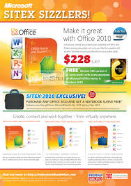 Microsoft fice 2010 Home Student Professional SITEX 2010 Price