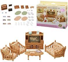 sylvanian families landhaus wohnzimmer spielzeug