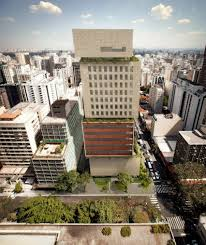 100 Isay Weinfeld Reveals Irregularly Stacked Tower Block For