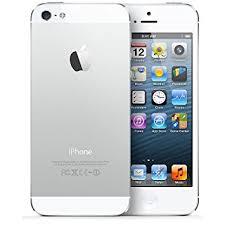 Apple 32GB Sim Free iPhone 5 White Amazon Electronics