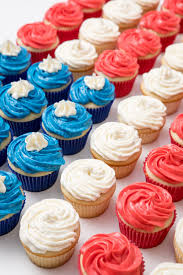 American Flag Cupcakes Make A Spectacular Party Display