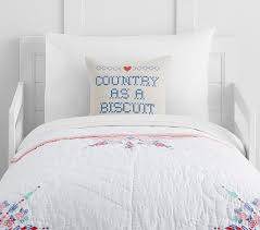 junk gypsy country blooms toddler quilt pottery barn kids