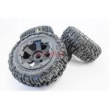 100 Sport Truck Tires Rovan RC Knobby Wheels Fits HPI Baja 5T King Motor T1000
