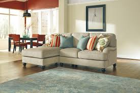 Ashley Furniture Light Blue Sofa by Decorating Ashley Furniture Sectional With Brown Leather Sofa And