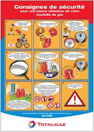 bouteille de gaz consigne sécurité bouteille de gaz