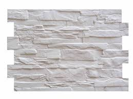 Mosaic Of Facade Wind White