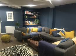 Teal Living Room Set by Living Room Curtains For Dark Blue Walls With Blue Wall Color