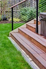 Horizontal Deck Railing Ideas by Deck Railing Design Ideas Diy