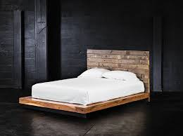 King Platform Bed With Headboard by Diy Platform Bed Ana White Build A Rustic Modern 2x6 Platform Bed