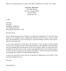 Cover Letters That Get You Hired Marketing Job Letter Sample Best For