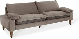 loberon sofa savoie pinienholz h b t ca 84 230 87 cm