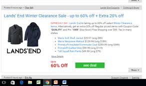 Lifeproof Coupon Code 2018 How To Shop Smart At Lands End Moneywise Moms Ray Ban Z Vibe Free Shipping Coupon Code Nib Promo Code Moov Bon Ton Mobile Coupons New Nexus Tablet Printable Coupons Discounts Promo Codes 20 Amazoncom Bradsdeals Lands End Elephant Wine Coupon Dave And Busters Irvine Spectrum 65 Off Italic The 1 Best Discount May Sunshine Cheerful Mood Surround You While Business 5 Percent Cash Back Credit Card