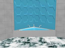 Tiling A Bathtub Surround by How To Install A Tub Surround 13 Steps With Pictures Wikihow