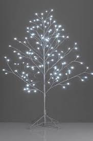 White Twig Tree Led